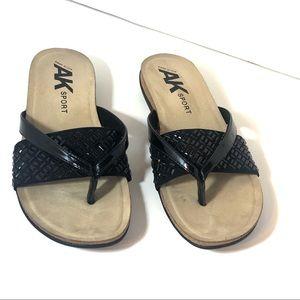Anne Klein Sport Shoes - 🔥SALE🔥 Anne Klein Sport Black Wedge Sandals 10